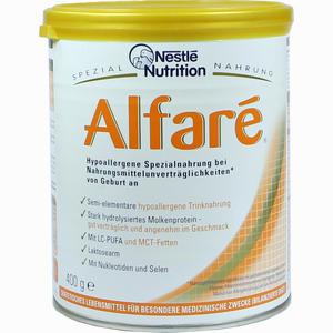 Abbildung von Nestle Spezialnahrung Alfare Pulver 400 g
