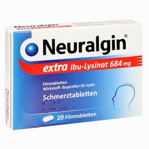 Abbildung von Neuralgin Extra Ibu- Lysinat Filmtabletten 20 Stück
