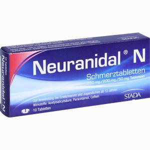 Abbildung von Neuranidal N Tabletten 10 Stück