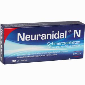 Abbildung von Neuranidal N Tabletten 20 Stück