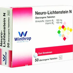 Abbildung von Neuro Lichtenstein N Dragees 50 Stück