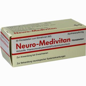 Abbildung von Neuro- Medivitan Filmtabletten 50 Stück