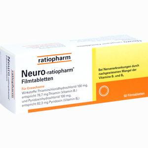 Abbildung von Neuro- Ratiopharm Filmtabletten  50 Stück