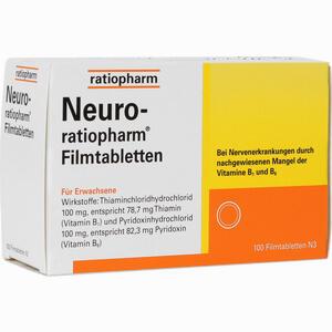 Abbildung von Neuro- Ratiopharm Filmtabletten  100 Stück