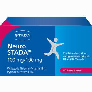 Abbildung von Neuro Stada Filmtabletten 50 Stück