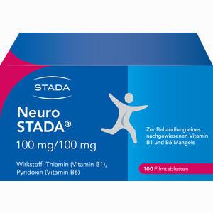 Abbildung von Neuro Stada Filmtabletten 100 Stück