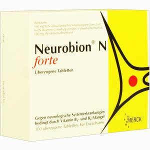 Abbildung von Neurobion N Forte Dragees 100 Stück