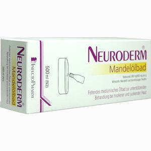 Abbildung von Neuroderm Mandelölbad Bad 500 ml