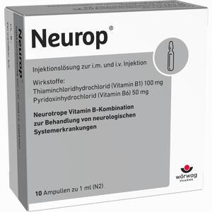 Abbildung von Neurop Injektionslösung Ampullen 10 x 1 ml