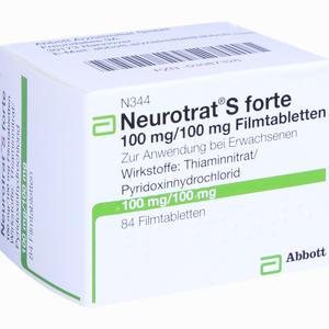 Abbildung von Neurotrat S Forte Filmtabletten 84 Stück