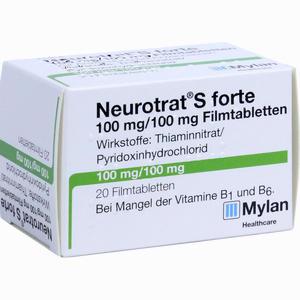 Abbildung von Neurotrat S Forte Filmtabletten 20 Stück