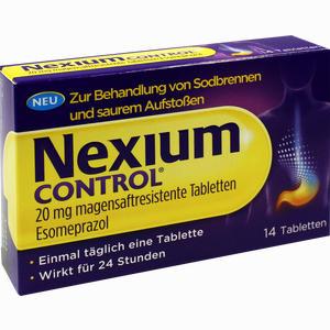 Abbildung von Nexium Control 20mg Tabletten 14 Stück