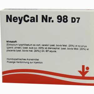 Abbildung von Neycal Nr. 98 D7 Ampullen 5 x 2 ml