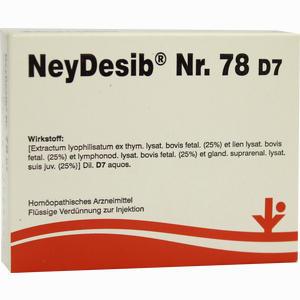 Abbildung von Neydesib Nr. 78 D7 Ampullen 5 x 2 ml