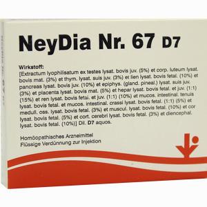Abbildung von Neydia Nr. 67 D7 Ampullen 5 x 2 ml