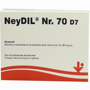 Abbildung von Neydil Nr. 70 D7 Ampullen 5 x 2 ml