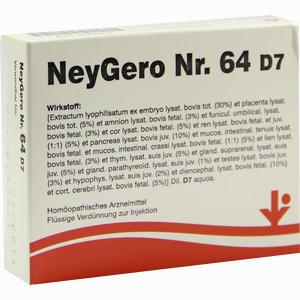 Abbildung von Neygero Nr. 64 D7 Ampullen 5 x 2 ml