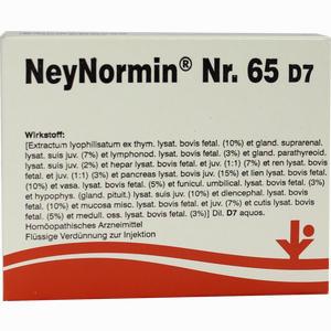Abbildung von Neynormin Nr. 65 D7 Ampullen 5 x 2 ml