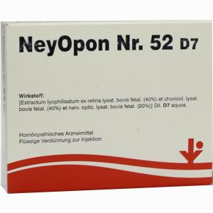 Abbildung von Neyopon Nr. 52 D7 Ampullen 5 x 2 ml