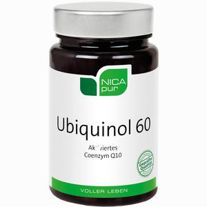 Abbildung von Nicapur Ubiquinol 60 Kapseln 30 Stück
