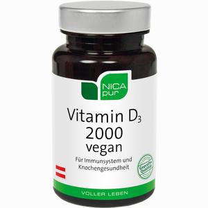 Abbildung von Nicapur Vitamin D3 2000 Vegan Kps Kapseln 60 Stück