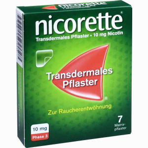 Abbildung von Nicorette Tx Pflaster 10mg Pflaster Transdermal 7 Stück