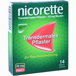 Abbildung von Nicorette Tx Pflaster 25mg Pflaster Transdermal 14 Stück