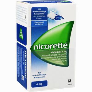 Abbildung von Nicorette Whitemint 4 Mg Kaugummi Kohlpharma 105 Stück