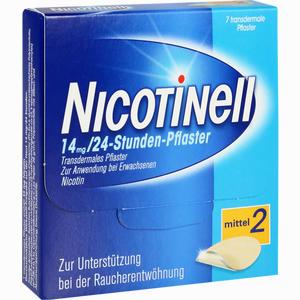 Abbildung von Nicotinell 14mg/24- Stunden- Pflaster Transdermal Mittel 2  7 Stück