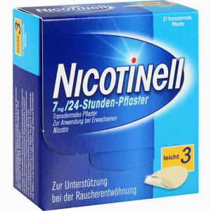 Abbildung von Nicotinell 17,5mg 24- Stunden- Pflaster Transdermal 21 Stück