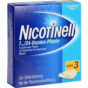 Abbildung von Nicotinell 17,5mg 24- Stunden- Pflaster Transdermal 7 Stück
