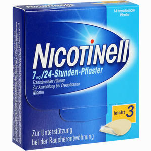 Abbildung von Nicotinell 17,5mg 24- Stunden- Pflaster Transdermal 14 Stück