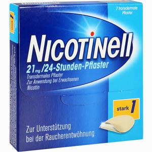 Abbildung von Nicotinell 21mg/24- Stunden- Pflaster Stark 1  7 Stück