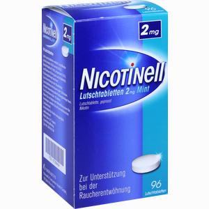 Abbildung von Nicotinell Lutschtabletten 2mg Mint  96 Stück