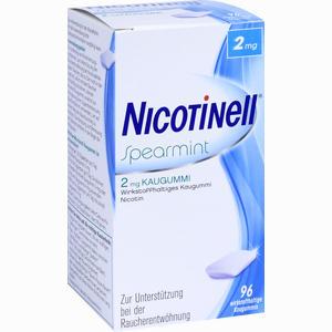 Abbildung von Nicotinell Spearmint 2 Mg Kaugummi  96 Stück