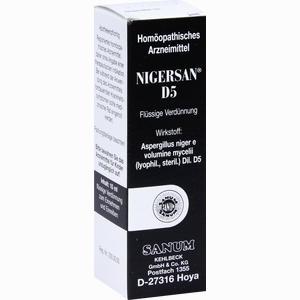 Abbildung von Nigersan D5 Tropfen 10 ml