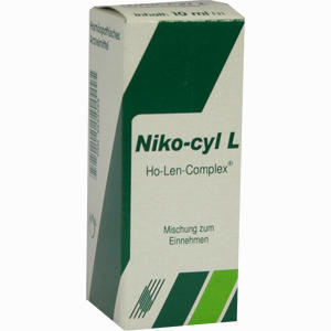 Abbildung von Niko- Cyl L Ho- Len- Complex Tropfen 10 ml