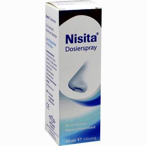 Abbildung von Nisita Dosierspray Nasendosierspray 20 ml