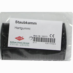 Abbildung von Nissenkamm Hartgummi 102171 1 Stück
