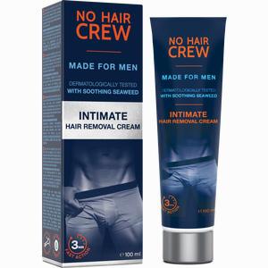 Abbildung von No Hair Crew - Enthaarungscreme für Intimbereich für Männer  100 ml