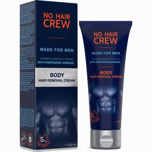 Abbildung von No Hair Crew - Enthaarungscreme für Körper für Männer  200 ml