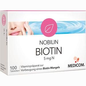 Abbildung von Nobilin Biotin 5mg N Tabletten 100 Stück