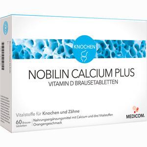 Abbildung von Nobilin Calcium Plus Vitamin D Brausetabletten  60 Stück