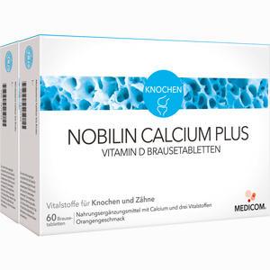 Abbildung von Nobilin Calcium Plus Vitamin D Brausetabletten  2 x 60 Stück
