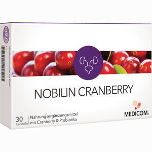 Abbildung von Nobilin Cranberry Kapseln 30 Stück