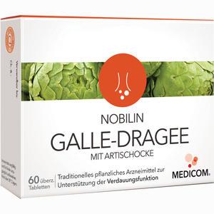 Abbildung von Nobilin Galle- Dragee mit Artischocke Tabletten 60 Stück
