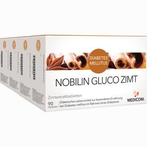 Abbildung von Nobilin Gluco Zimt Tabletten  4 Stück