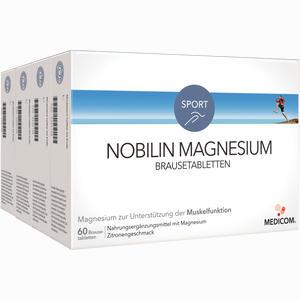 Abbildung von Nobilin Magnesium Brausetabletten  4 x 60 Stück