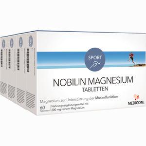 Abbildung von Nobilin Magnesium Tabletten  4 x 60 Stück
