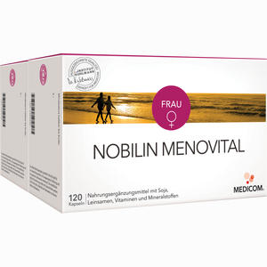 Abbildung von Nobilin Menovital Kapseln 2 x 120 Stück
